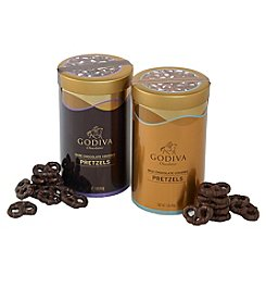 Godiva Chocolatier Milk & Dark Chocolate Covered Pretzel Variety Pack