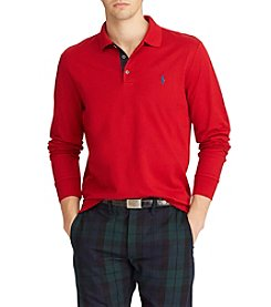 Polo Ralph Lauren Men's Slim Fit Long Sleeve Mesh Polo