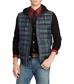 Polo Ralph Lauren Men's Active Fit Plaid Down Vest