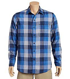 Tommy Bahama Men's Big & Tall Dual Lux Plaid Button Down Shirt