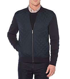 Perry Ellis Men's Big & Tall Quilted Nylon Full Zip Jacket