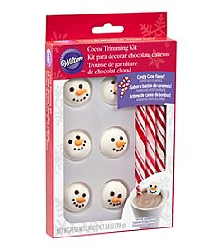 Wilton Bakeware Snowman and Candy Cane Cocoa Trimming Kit