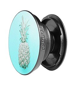 Spin Pop Pineapple Blue Phone Holder