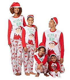 Briefly Stated Elf on the Shelf Family Pajamas