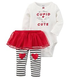 Carter's 2 Piece Bodysuit And Tutu Pants Set