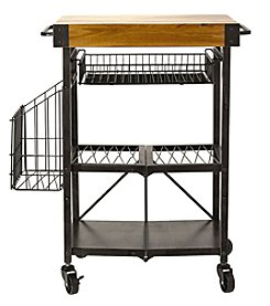 Mikasa Acacia Wood Kitchen Cart