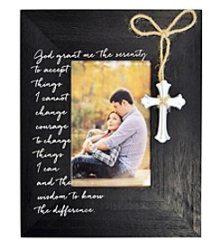 New View Cross Charm Frame
