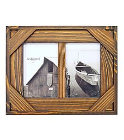 New View Espresso Wood Collage Frame