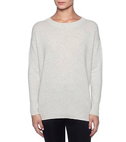 Premise Cashmere Crewneck High-Low Pullover