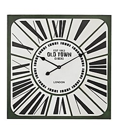 Sterling Stylized Roman Numeral Clock