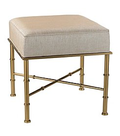 Sterling Gold Cane Bench