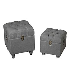 Sterling Set of 2 Linen Storage Benches