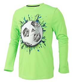 adidas Boys' 2T-6 Long Sleeve Digi Sport Ball Tee