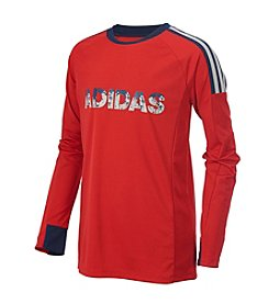 adidas Boys' 10-20 Long Sleeve Challenger Top