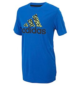 adidas Boys' 8-20 Go-To Badge of Sport Long Sleeve Top