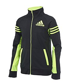 adidas Boys' 8-20 League Track Jacket