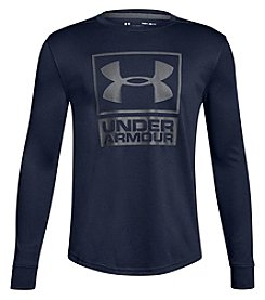 Under Armour Boys' 8-20 UA Tech™ Textured Tech Long Sleeve Crew Shirt