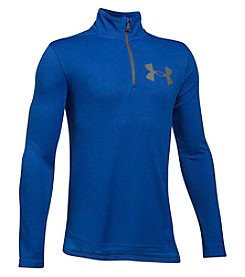 Under Armour Boys' 8-20 Textured Tech Long Sleeve Quarter-Zip Shirt