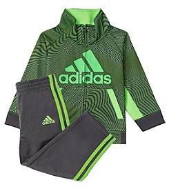 adidas Baby Boys' 12-24M Fusion Camo Jacket and Pants Set
