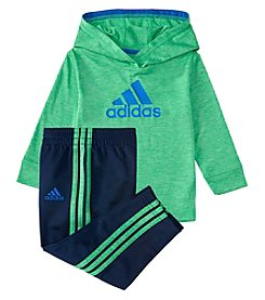 adidas Baby Boys' 12-24M Coast to Coast Hoodie and Pants Set