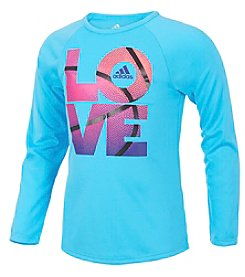 adidas Girls' 2T-16 Extraordinary Love Tee