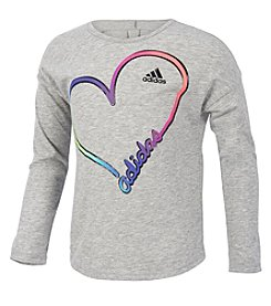 adidas Girls' 7-16 Long Sleeve All Star Tee