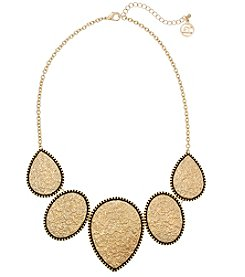 Erica Lyons Goldtone Frontal Necklace