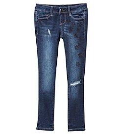 Blue Spice Girls' 7-14 Star Studded Jeans