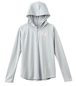 Under Armour Girls' 7-16 Tech Novelty Quarter Zip Hoodie