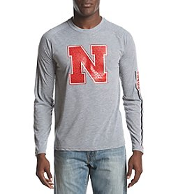 adidas NCAA® Nebraska Cornhuskers Men's Long Sleeve Play Shirt