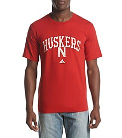 adidas NCAA® Nebraska Cornhuskers Men's Pastime Short Sleeve Graphic Tee