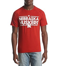 adidas NCAA® Nebraska Cornhuskers Men's Dassler Short Sleeve Graphic Tee