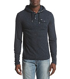 Buffalo David Bitton Nifaro Men's Long-Sleeve Hooded Henley