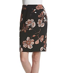 Nine West Floral Printed Skirt