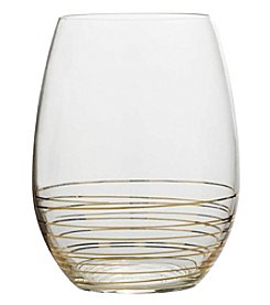 Mikasa Electric Boulevard Stemless Wine Glasses