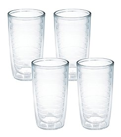 Tervis 4-Piece 16-oz. Clear Insulated Tumblers Set