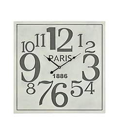 Sterling Quai Voltaire Wall Clock