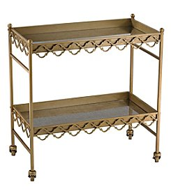 Sterling Quatrefoil Bar Cart