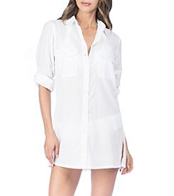 Lauren Ralph Lauren Button-Down Cover Up