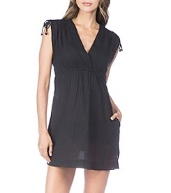 Lauren Ralph Lauren V-Neck Dress Coverup