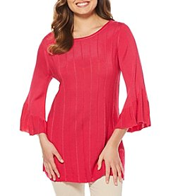Rafaella Bell Sleeve Sweater Tunic