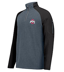 J. America NCAA® Ohio State Buckeyes Men's Heathered Reign Supreme Pullover