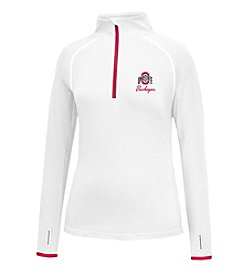 J. America NCAA® Ohio State Buckeyes Women's Power Through Pullover