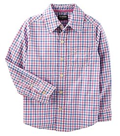 OshKosh B'Gosh Boys' 4-14 Long Sleeve Button Up Top