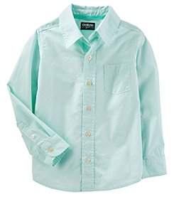 OshKosh B'Gosh Boys' 4-14 Long Sleeve Button Down Top