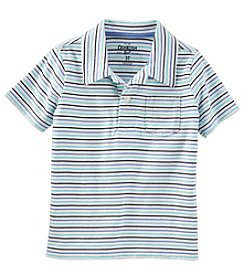 OshKosh B'Gosh Boys' 4-14 Short Sleeve Polo Tee
