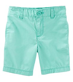 OshKosh B'Gosh Boys' 2T-6X Flat Front Shorts