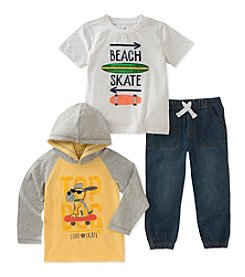 Kids Headquarters Boys' 2T-7 3 Piece Surf And Skate Set