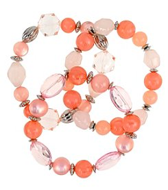 Studio Works Beaded Stretch Bracelet Set