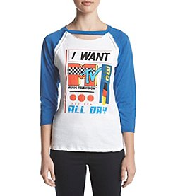 Freeze MTV Choker Raglan Tee